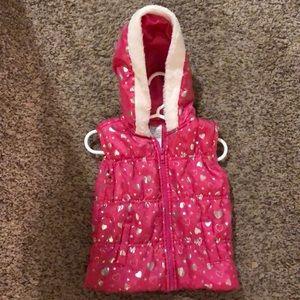 Other - Pink Zip Up Vest